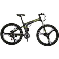 EUROBIKE G7 Hot Sale 27.5 inch Magnesium Alloy Wheel Folding21 Speed Full Suspension Frame mountain bike bicycle