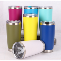 Double Wall 30oz Stainless Steel Tumbler,Stainless Steel Reusable Water Tumbler Vacuum Coffee Cups with custom logo