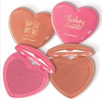 Wholesale Makeup High pigment Sweet heart-shaped blusher private label