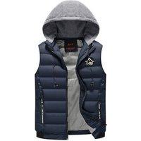 padded vest quilted vest Winter waistcoat vest for man,cotton jacket