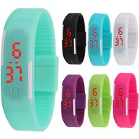 Fashion Luminous Color LED Bracelet Watch Fashion Touch Childrens Student Gift Electronic Wrist Watch