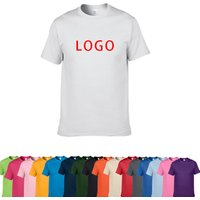 China Supplier custom Men Sports Clothing White cotton T Shirt with Logo