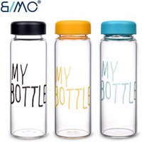 My Bottle Sports Plastic Fruit Juice Water Bottle With Dome Lid Portable Travel Tumbler Cup Fashion Transparent Car Cup