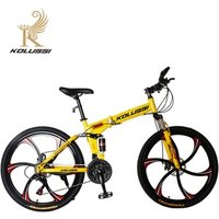 2019 Land rover folding bicycle wheel with magnesium alloy  Folding Mountain Bike With Jaguar model Frame and Disc Brake
