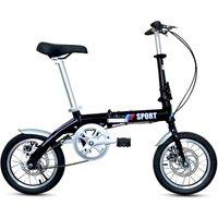 Manufacturers can customize 14 - inch aluminum frame disc brake mini adult mini ultra - light folding bicycle