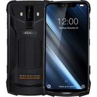 Global band 6GB+128GB IP68/IP69K Waterproof smartphone DOOGEE S90 6.18 inch Helio P60 Octa Core Android 8.1 4G NFC Game mobile