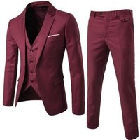 Morili High quality 2019  mens made to measure suit man 3 pieces suit Slim business groom wedding casual  MMSB34