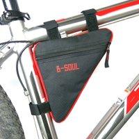 YG-BG01 Bicycle Front Tube Frame Bag Oxford Cloth Bicycle Bag OEM Storage Bag for Bike Bike accessories