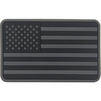'No Mold Cost Rubber Logo Patches Usa American Flag Custom Pvc Patch