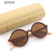 Fashion luxury ladies bamboo legs sunglasses 2019