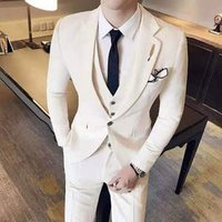 High-quality suit suit three-piece suit for men and bridegroom