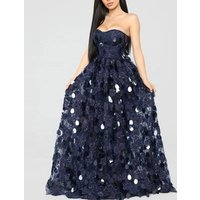 2019 Elegant Evening Dress  Fashionable Women  Long Mermaid sequin Dresses