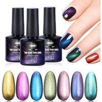 2019 New 5D Cat Eye Gel Nail Polish 6ml Starry Sky Effect UV LED Varnish Nail Art Lacquer