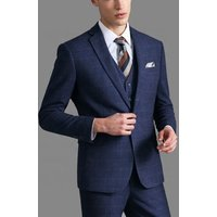 MTM slim suits wholesale 3 piece wedding tuxedo french suit for men factory price