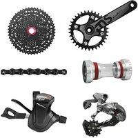 Sunrace 12 Speed CSMZ80 11-50T Bicycle Groupset Mtb Bike Cassette Shifter Rear Derailleur 110L Chain 36T Crankset Bottom Bracket