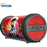 Factory Speaker ODM OEM Smart Portable Slim Outdoor Wireless Portable Bluetooth Bazooka Speaker