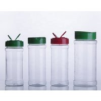 'Empty Plastic Spice Jars / Shaker / Seasoning Bottle With Flip Top Cap Plastic Herbs And Spice Tools