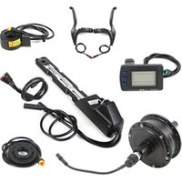Waterproof integrated controller 48v 500w rear wheel 28inch electric kit for bicycle