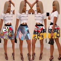 ladies mini skirt designs trending clothes for women print skirt