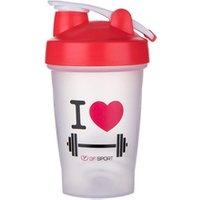 '400ml Custom Gym Shaker Plastic Protein Powder Water Cup Shaker Bottle Bpa Free