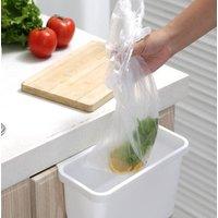 Wholesale Multifunctional kitchen supplies plastic wall-mounted garbage bin kitchen trash can