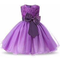 Formal 3D flower child baby girl party dress evening dress for kids