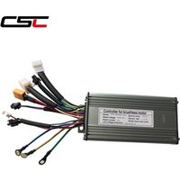 CSC Electric Bike Controller ebike 36 48v 250W 350W 500W Electric bicycle Brushless controller Sine Wave 9 Mosfet KT Controller