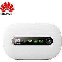 'New Huawei E5220 3g Wifi Wireless Router Portable Mifi Mobile Hotspot Pocket Car Wifi Modem With Sim Card Slot Pk E5330 Zte