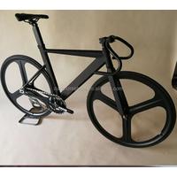 Alloy fixed gear bike frame