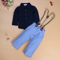 Kids clothing summer handsome boy gentleman suit 2 pcs clothes boys clothing fashion kids baby clothes