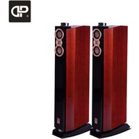 DX-2 high end hi fi floor standing speakers with 4 ways home theater speaker in wood cabinet made in China factory