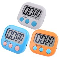 Digital Kitchen Timer Clock Cooking timer with Loud Alarm Magnetic Back