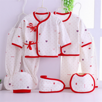 Baby Childrens Clothing Spring 0-6 months Baby 100% organic cotton Clothes Summer Newborn Baby rompers  Clothes  sets