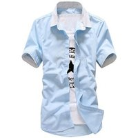 Hot style mens short sleeve shirts fashion mens shirts wholesale mens dress shirt