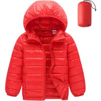 2019 New Product Colorful Lightweight Packable Winter Children Down Feather Jacket Coat Kids With Hood