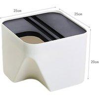 Wholesale Colorful Non-slip Double Stackable PP Plastic Mini Kitchen Trash Bin