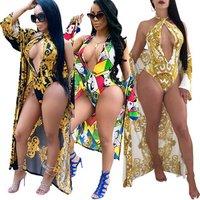 Summer Plus size Swimwear beach cover up bikini girl sexy bathing suits for woman 2019