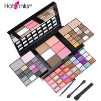 74 Color Makeup Palette Eye Shadow Lipgloss Blusher Concealer Glitter Eyeshadow Palette Private Label