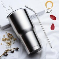 30 oz Stainless Steel Vacuum Insulated Travel Mug,Water Coffee Tumbler For Home