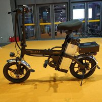 180KMS Portable Electric Bike 2018/Electric Foldable Bicycle/Mini Folding Electric Bicycle