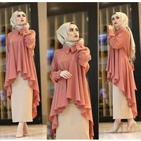 OEM Muslim casual Blouse Islamic Clothing blouse for muslim women