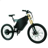 5000 Watt Long Range Ebike 72V 5000W Stealth Bomber Electric Enduro Bike 60MPH Frame Steel Kit Available