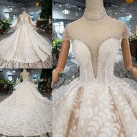 China Guangzhou Wedding Dress Luxury Bridal Gown High Quality Pink Puffy Princess Wedding Dress