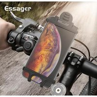 Essager Bicycle Phone Holder For iPhone Samsung Universal Motorcycle Mobile Cell Phone Holder Bike Handlebar Stand Mount Bracket