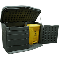 'Hdpe Material Durable Outdoor Garden Plastic Tool Storage Shed