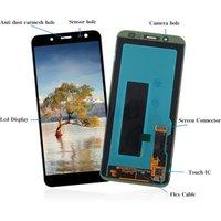 mobile phone lcds For Samsung Galaxy J6 2018 LCD Touch Screen Digitizer J600 J600F J600fn J600M LCD J6 Brightness Adjustable