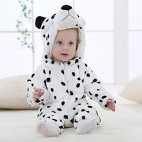 MICHLEY Spring Autumn Baby Clothes Flannel Baby Boys Clothes Cartoon Animal Jumpsuits Infant baby girls children clothing