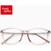 30007 Good quality round titanium optical eyewear glasses frames women