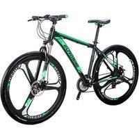EUROBIKE x9 29 Inch  21 Speed  Aluminium  Bicycle Magnesium alloy   3 Spoke Integrate Wheel Sport suspension  Mountain Bike  MTB