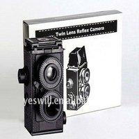 'Diy Lomo Camera 35mm Film Recesky Twin Lens Reflex Camera, Promotional Gifts